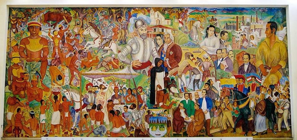 Mural Historia de Cali